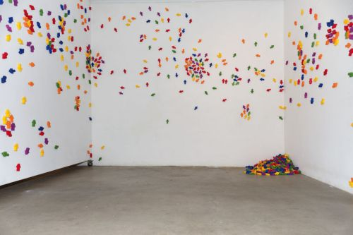 Everythingism. installation.  Mixed Media. Vienna Perreno 2012